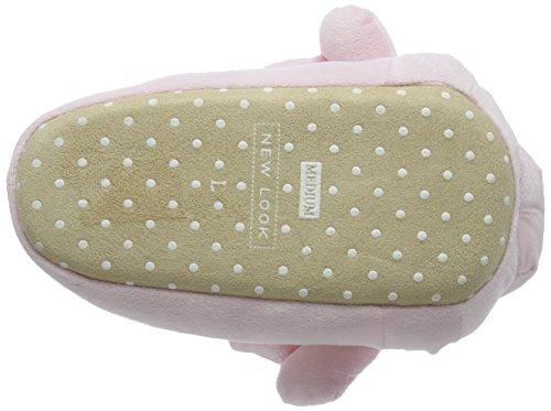 New Look Damen Nino Hausschuhe Pink (Light Pink)