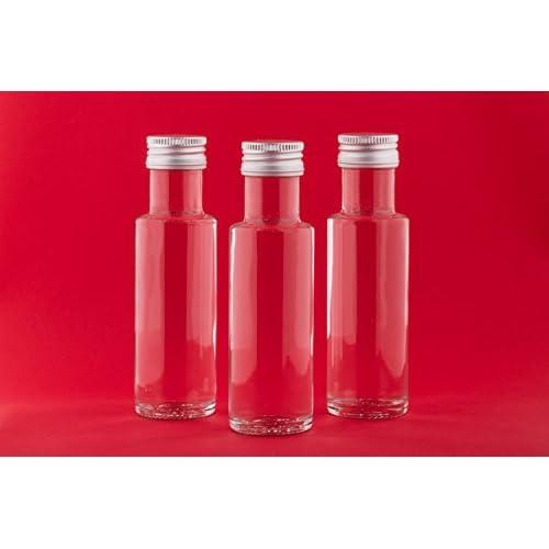 20 Leere Glasflaschen 100 Ml Dor Sch Kleine Flasche Schnapsflaschen Likrflasche Essigflaschen Lflaschen Mit Schraub Verschluss 01 Liter Zum Selbst Befllen Von Slkfactory