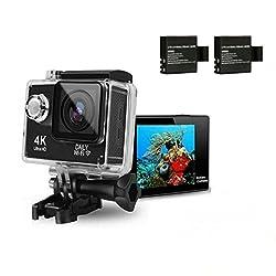 HTKJ Original Mini Ultra 4K HD1080P WiFi DV Action Sports Camera Waterproof Camcorder