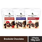 Best Dark Chocolates - Brookside Dark Chocolate Pomegranate/Blueberry and Acai/Raspberry and Goji Review