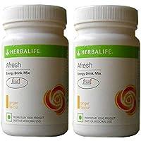 Herbalife Energy Drink Mix Ginger Flavour (Super Saver Pack)- Set Of 2 (HLIFEGINGER2)