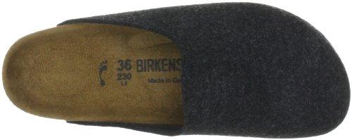 Birkenstock Classic AMSTERDAM Unisex-Erwachsene Clogs Grau (Anthrazit)