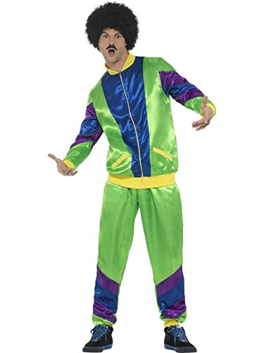 80's Height of Fashion Shell Suit Male Costume - X-Large