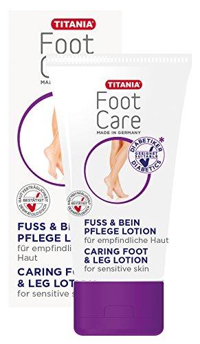 n Pflege Lotion, intensive Pflege für empfindliche Haut, Fusspflege für Diabetiker, 75 ml ()