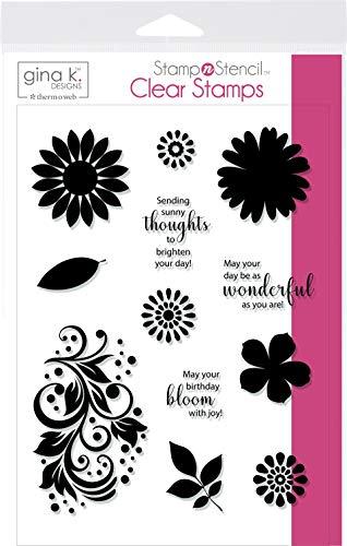 Unbekannt Gina K Designs Stamp Set-Crazy Daisy -