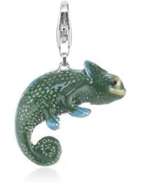 Esprit Jewels Damen-Charm chameleon 925 Sterling Silber ESCH91243A000