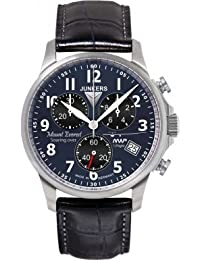 Junkers Herren-Armbanduhr Chronograph Quarz Leder 68943