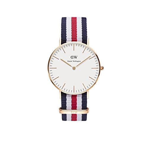 Daniel Wellington Damen-Armbanduhr Analog Quarz (One Size, weiß)