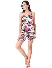 Satin Women s Sleep   Lounge Wear  Buy Satin Women s Sleep   Lounge Wear  online at best prices in India - Amazon.in 9ffd265b1