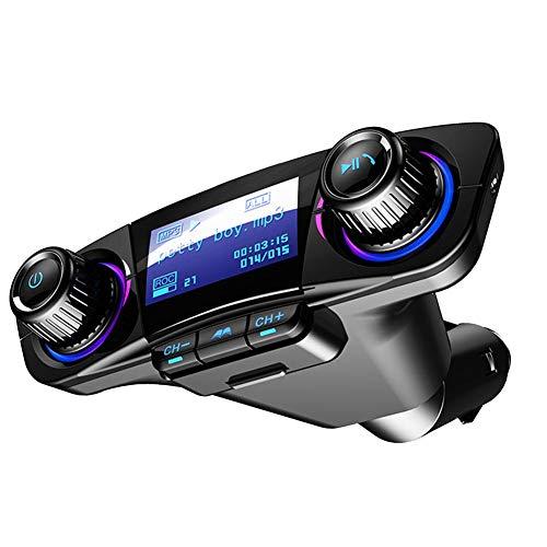 AITOCO Bluetooth FM Transmitter Auto MP3-Player Handsfree Wireless Radio Audio Adapter mit Dual USB U Disk TF Karte AUX-Eingang Ausgang Fm Hands Free Kit