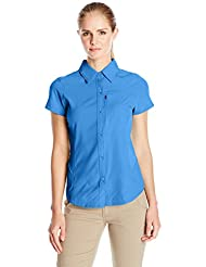 Columbia Camisas y camisetas W' Silver Ridge S/S Shirt Azul S