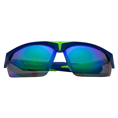 Roberto Cavalli Brillengestelle (Herren Sonnenbrille Modische Fahrer Sonnenbrille 100% UV400 Schutz für Golf, Autofahren, Outdoor Sport, Angeln, Radfahren, Fahrradfahren, Blau)