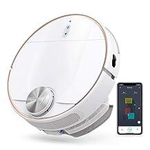 eufy RoboVac L70 Hybride afzuigrobot met wisfunctie, iPath-lasersnavigatie, 2in1-stofzuiger en -dweil, WLAN, kaartweergave, 2200Pa zuigkracht, geluidsarm voor harde vloeren& middelhoge tapijten