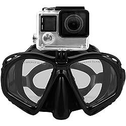 Tuba Complet avec Masque pour Appareil Photo caméra sous-Marine Masque de plongée