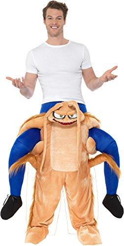 821Piggyback Kakerlaken Kostüm, braun, one size (Lustige Halloween Kostüme Ideen Für Erwachsene)