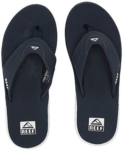 Reef FANNING, Herren Zehentrenner, Blau (Navy/White Naw), 42 EU (8 UK) - Winter White Casual Schuhe