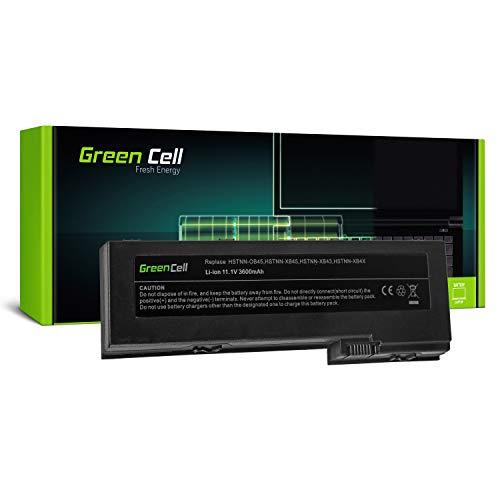 Green Cell OT06 OT06XL Laptop Akku für HP EliteBook 2730p 2740p 2760p HP Compaq 2710p Tablet PC (Li-Polymer Zellen 3600mAh 11.1V Schwarz)