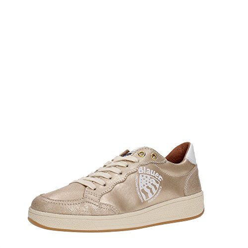 Blauer USA 7SWORETROLW/CRE Sneakers Donna GOL GOLD