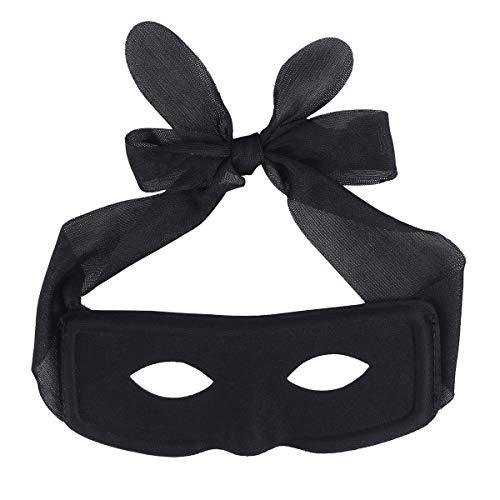 TOYANDONA 2 stücke Tuch Augenmaske Partei Liefert Geschenk Augenmaske für Männer (Schwarz)