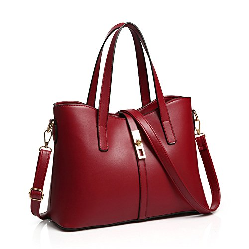womens-pu-leather-handbag-ladys-crossbody-bag-messenger-tote-bags-red