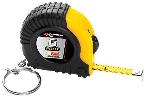 PERFORMANCE TOOL W5006 6' Tape Measure in Display 6' Tape Measure in Display - Lisle Scraper Blade