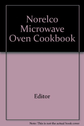 norelco-microwave-oven-cookbook