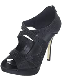 Paco Mena Bouganvillea 04642 - Sandalias de vestir de satén para mujer