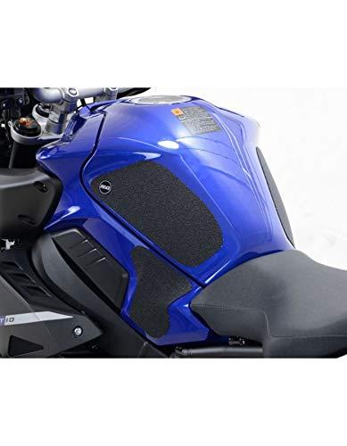 Motodak Kit Grip de réservoir R&G Racing 4 pièces Noir Yamaha MT-10