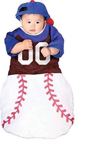 ke-up Party Kleidung Festival Fasching Karneval Cosplay Maskerade WMU Kostuem Bunting Home Run Baby 0-6 Monate (Baby Halloween Kostüm Make Up)