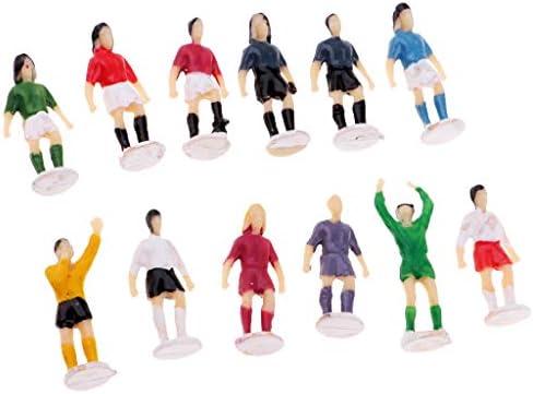 Homyl 1/87 Ho Soccer Football Player Action Figure Model Toys Peint / Non Peint | Une Bonne Conservation De Chaleur