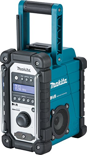 Preisvergleich Produktbild Makita DMR109 All 7.2, DAB-Radio, Blau, 2-teilig