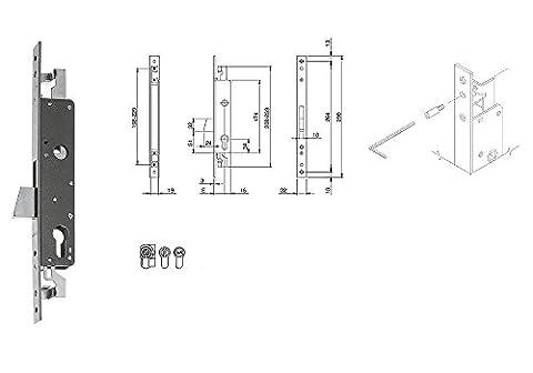 ISEO 783302252Slip-On Front Entry 25mm 22mm Metal Closure Threefold Anchor Steel Profile Cylinder Lock Deadbolt Rotating mandata 24mm