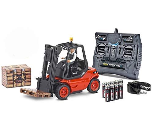 Carson 1:14 Functional model actividadesactividadespegar H 40 D elevadoras camión con mando a distancia (500907093)
