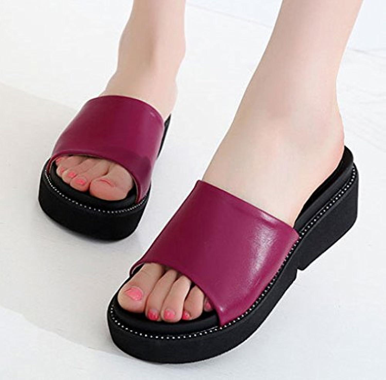 XING GUANG Ciabatte Ciabatte Ciabatte Ciabatte Per Le Donne Summer Fashion Pantofole Per Le Donne Casual Con Suola Spessa Pantofole... | Primi Clienti  | Uomini/Donne Scarpa  dd8619