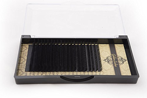 Golden Lashes Mink D-Curl Lung. 14mm / Spess. 0.10mm Ciglia Finte Extension Ciglia Trucco Luxury