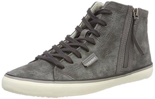 ESPRIT Damen Venus Bootie Hohe Sneaker, Grau (Gunmetal 015), 39 EU