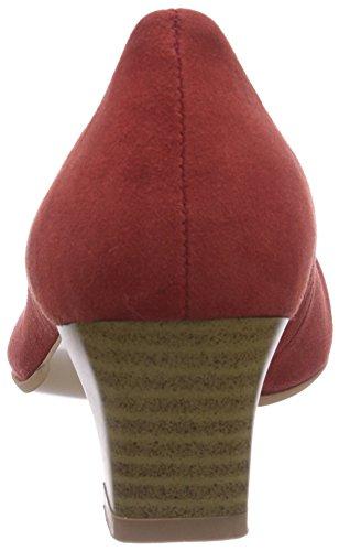 Bergheimer Trachtenschuhe Rosi Damen Pumps Rot (Red)