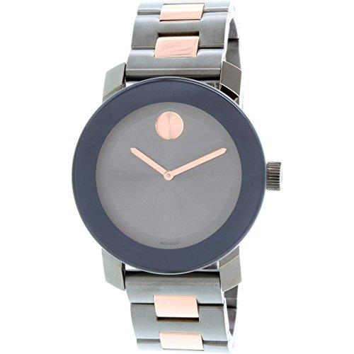 Movado Bold Reloj de Mujer Cuarzo Suizo 36mm Correa y Caja de Acero 3600327