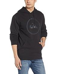 Quiksilver Herren Fleece Top Big Logo Hood M Otlr Kapuzenpullover