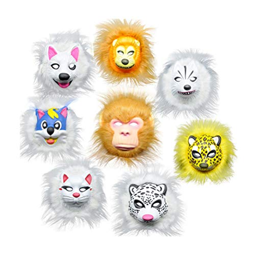 stüm Make-up Tier Maske Kinder Cosplay Maske Party Favor Dekoration ()
