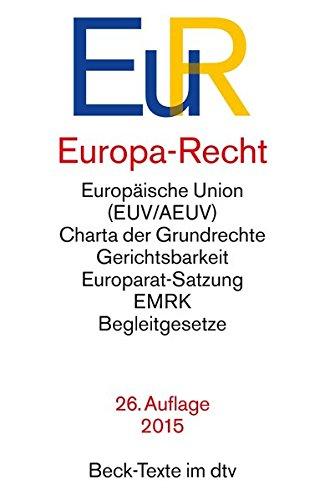 Europa-Recht (dtv Beck Texte)