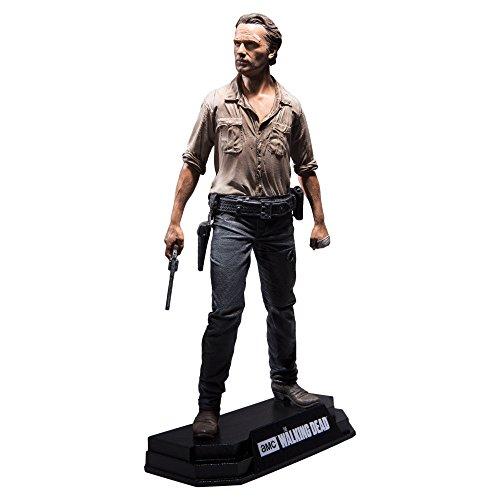 Preisvergleich Produktbild The Walking Dead - Rick Grimes Action Figure + Stand