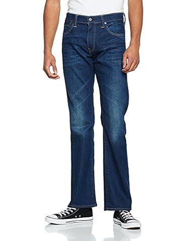 Levi's Herren Bootcut Jeans 527 Slim Boot Cut, Blau (Festival Rain 532), W36/L30
