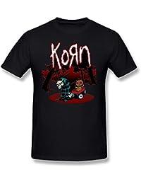 Bravado - Camiseta - Unisex - Bravado Korn - Uomo Mosaic (Camiseta) Black