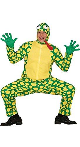 KOSTÜM - FROSCH - Größe 52-54 (L) (Frosch Und Kröte Halloween Kostüm)
