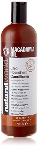Ultra Conditioning Shampoo (Natural World Macadamia Oil Ultra Nourishing Conditioner 500ml)