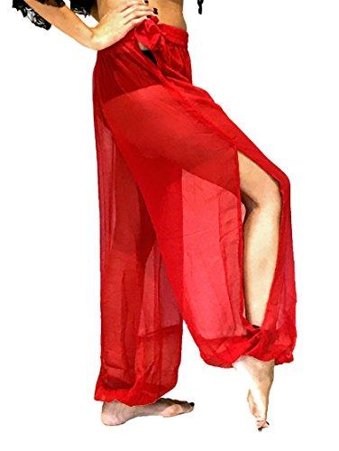 Arabian Nights Bauchtänzerin Kostüm - Bauchtanz Harem Hose zum Tanzen Tribal