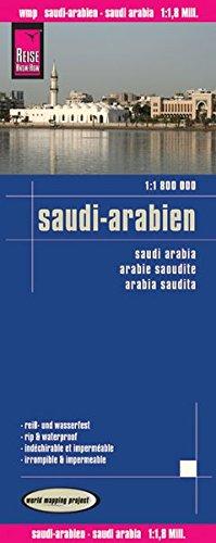 Landkarte: Saudi Arabien 1:1.800.000