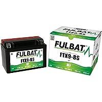 inkl.7.50 EUR Batteriepfand 1993-1995 YTX9-BS 12 Volt Kawasaki KLX 650 C LX650C Bj Batterie JMT GEL
