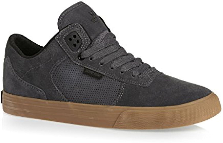 SUPRA Skateboard Shoes ELLINGTON VULC CHARCOAL GUM  Billig und erschwinglich Im Verkauf